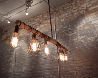 Vintage Inspired Industrial Hanging Light