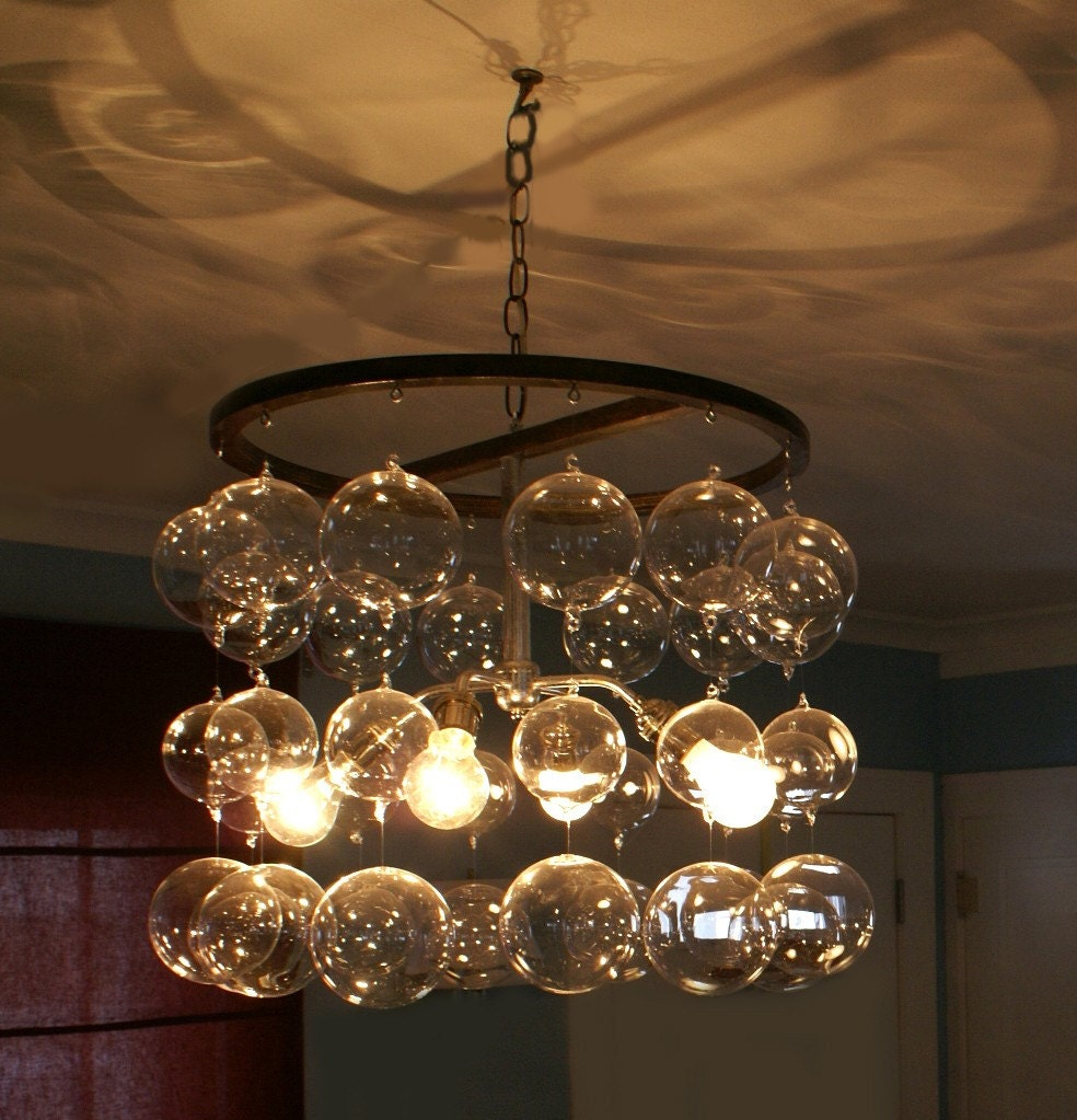Streaming Glass Ball Chandelier – Chandelier Glass Balls