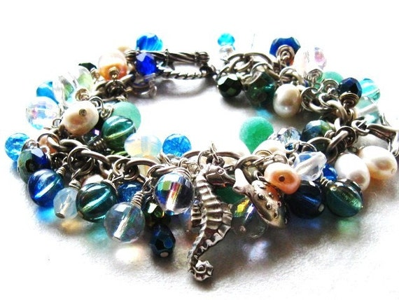 Sea Scape Vacation Charm Bracelet