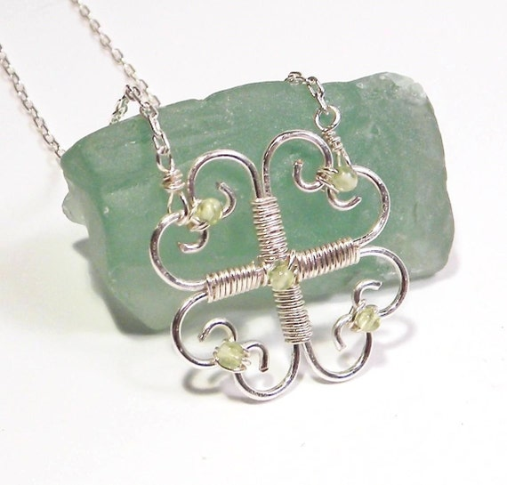Small Four Leaf Clover Necklace
