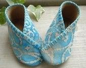 Baby Kimono Shoes Sewing Pattern - PDF ePattern