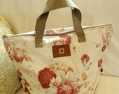 SALE - PDF e-Pattern - Large Zippered Bag