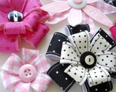 Hair Accessories Sewing Pattern for Flowers Number 2 - PDF e-Pattern