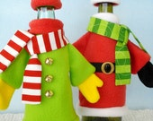 Sewing Pattern - Coat, Hat, Scarf, and Mitten Sets for Bottles - PDF e-pattern