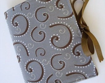 Sewing Pattern - Small Album - Note Pad with Ribbon Ties PDF e-Pattern