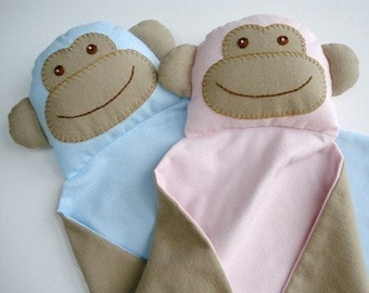 SALE - PDF ePATTERN for Monkey Blankie
