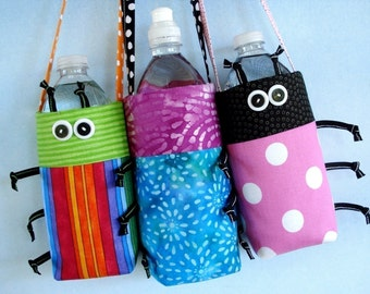 SALE - PDF e-Pattern - Water Bottle Covers