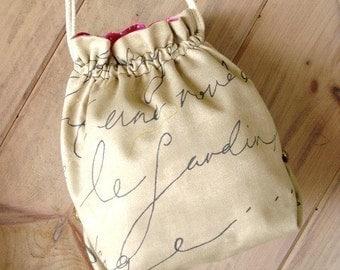 SALE - PDF ePattern - Drawstring Bag