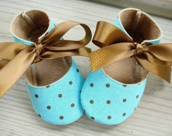 Baby Shoes Booties Sewing Pattern - Basic Shoes - Ten Sizes - Babies - Preemies - Dolls - PDF e-Pattern