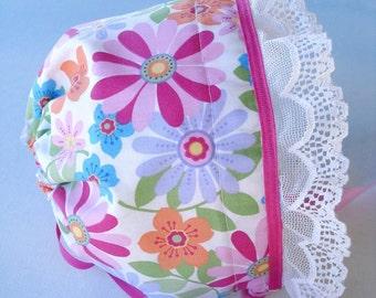 Adjustable Knot Baby Bonnet Sewing Pattern - PDF ePattern