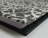 Daily Devotion Journal with Black on White Damask Cover