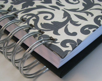 Address Book/ Mini Address Book/ Pocket Size Address/ Replacement Labels/ Address Book With Tabs/ Email Address Book/ PhoneBook/Black Damask