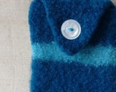 Felted Electronics Cozie Turquoise