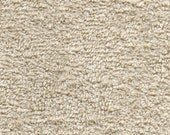 Organic Cotton Terry Knit Fabric, by the yard
