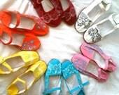 CUSTOM Mary Jane Hand Painted Shoes