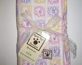 Personalized Embroidery Swaddling Receiving Blanket FREE SHIPPING