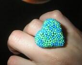 Jaune II Cuoring Ring