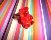 Red teddy ring