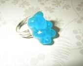 Turquoise Bear Ring