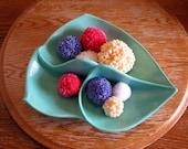 Retro Dish in Turquoise