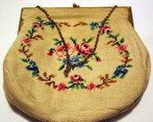 Sweet Little Embroidered Purse