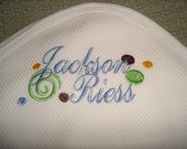 Jackson Personalized Blanket - first and  Middle or  Last Name