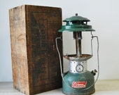 The outdoors--vintage Coleman gas lantern
