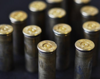 5 Brass Bullet Shell Casings  38..Ammo Casings...Bullet Shells--jewelry supplies, altered art, assemblage, mixed media