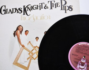 vintage lp album--Gladys Knight and the Pips--1970s / 70s record / vintage 1970s album