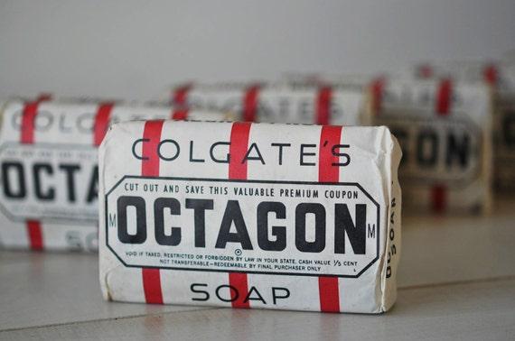 Vintage 1950s Octagon Laundry Soap