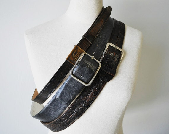 instant collection vintage leather belts