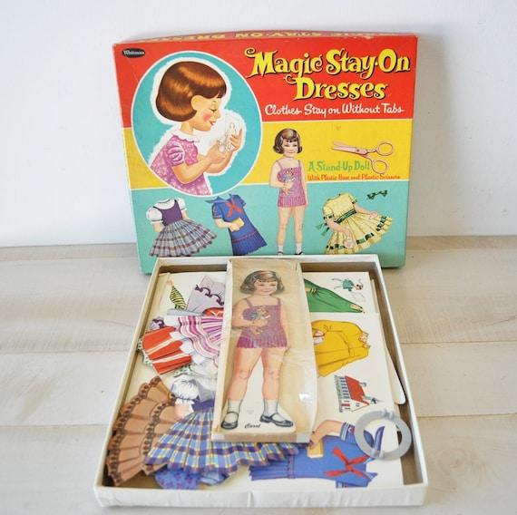 Fairytale Land...Happy Vintage 60s Paper Doll & Clothes