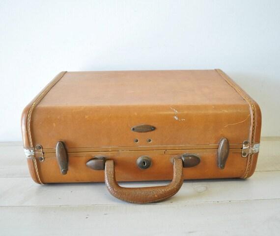 vintage hard side samsonite luggage