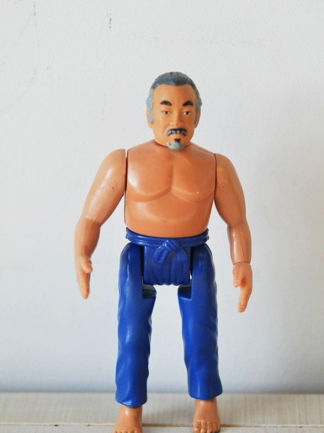 Vintage The Karate Kid Mr Miyagi Action Figurecollectible