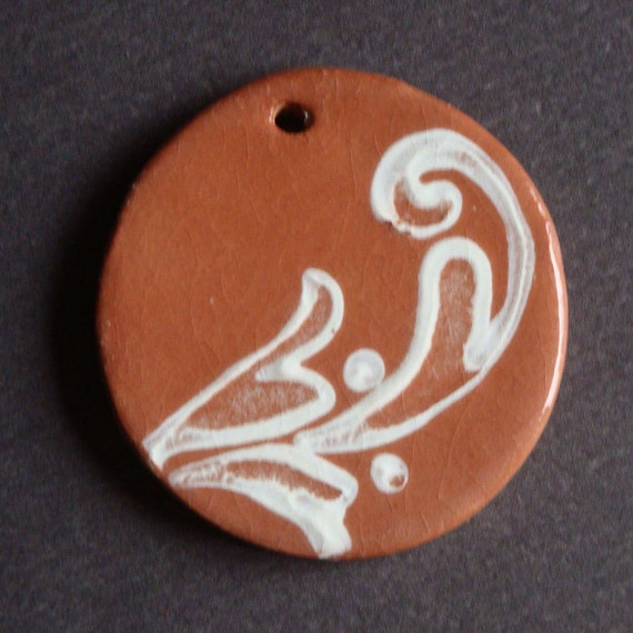 Terracotta Clay Pendant