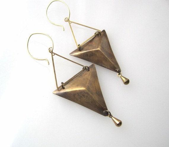 Prism Skeleton Earrings