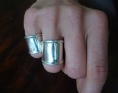 Thick banded-Sterling Silver Ring