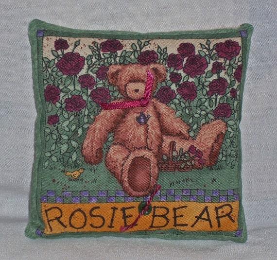 PILLOW--Rosie Bear