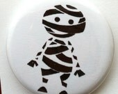 Cute Mummy Pin Back Button