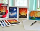 Goddess fine art notecards, boxed set of 9