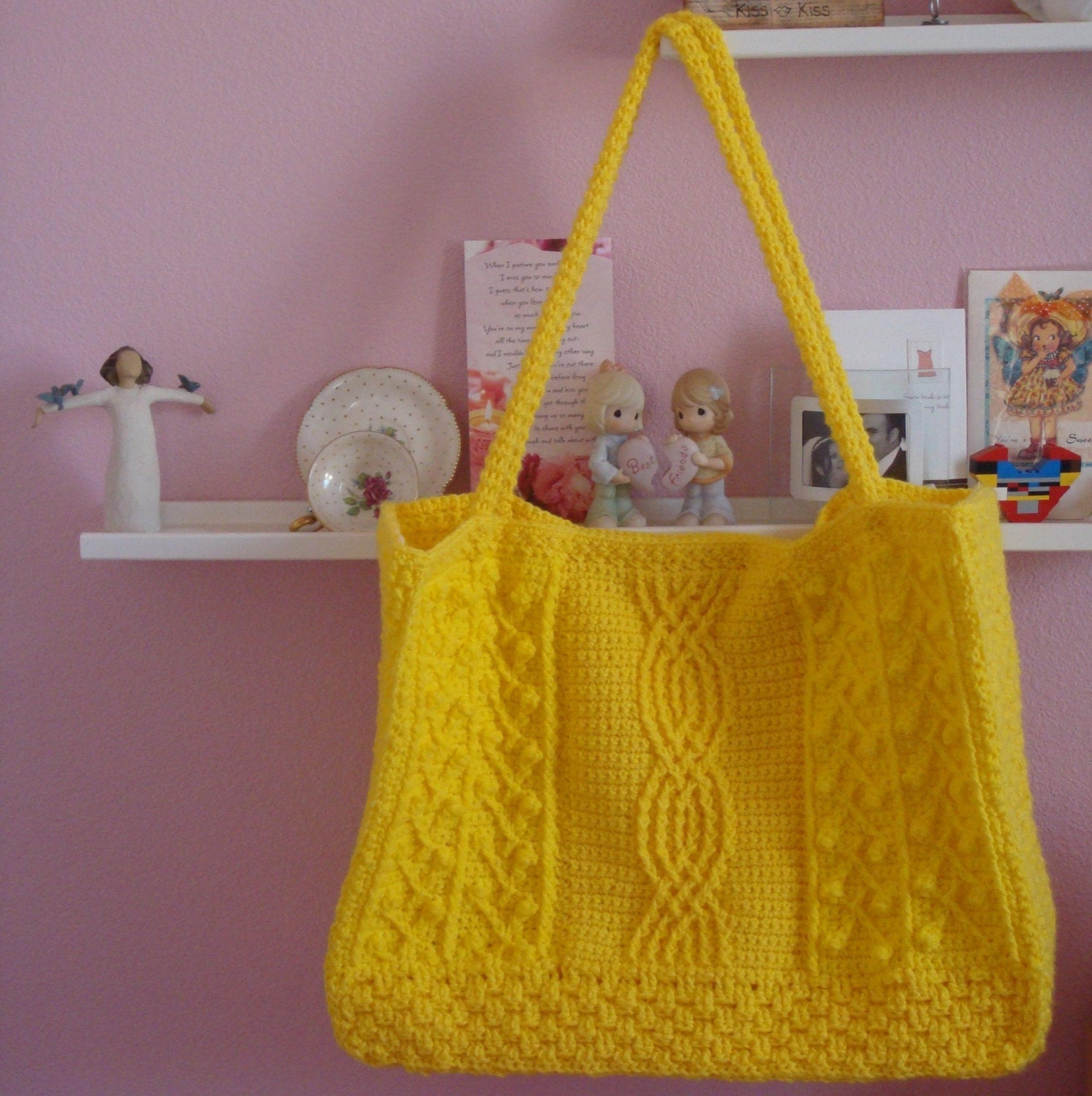 Easy Crochet Tote Bag Pattern : TOTE CROCHET PATTERN - Easy Crochet Patterns