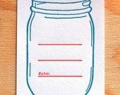 Mason Jar Canning Labels