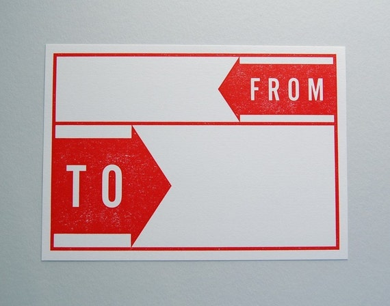 TO/FROM Mailing Labels