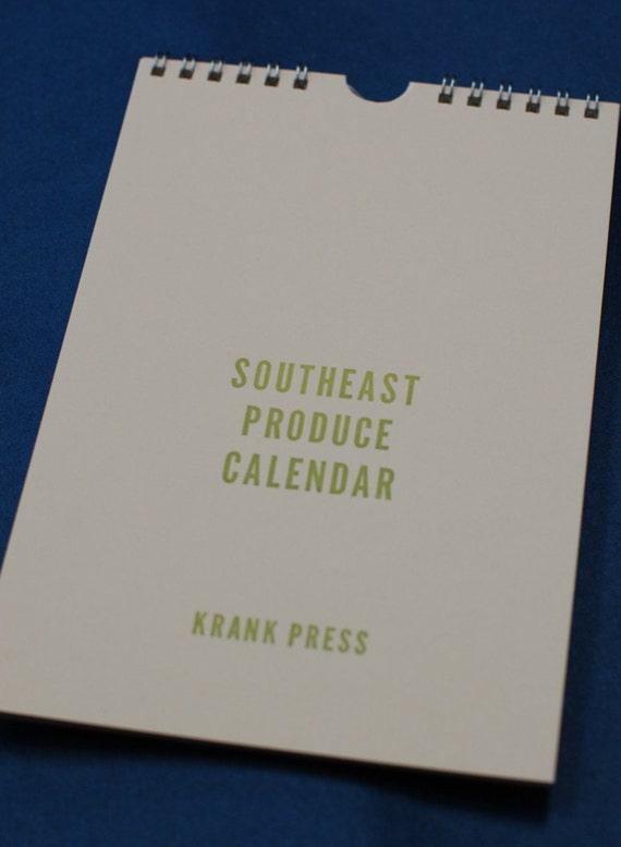 Southeast Produce Calendar