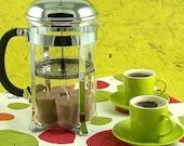 4 Kona Coffee Soy Candles Java Mocha Fragrance Brown Votives Handmade in Hawaii Big Island