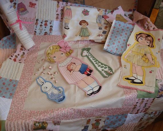 Paper Doll...Handmade Quilt Kit by HandmaidensCottage on Etsy