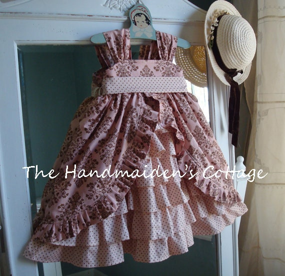 Little Pink Cottontail...Custom order sizes 6 months through size 8