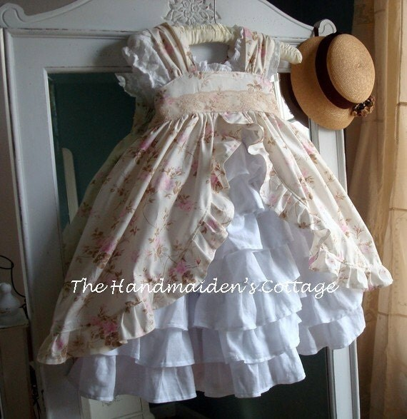 Reserved For Audra Pink Pinafores And Petticoats