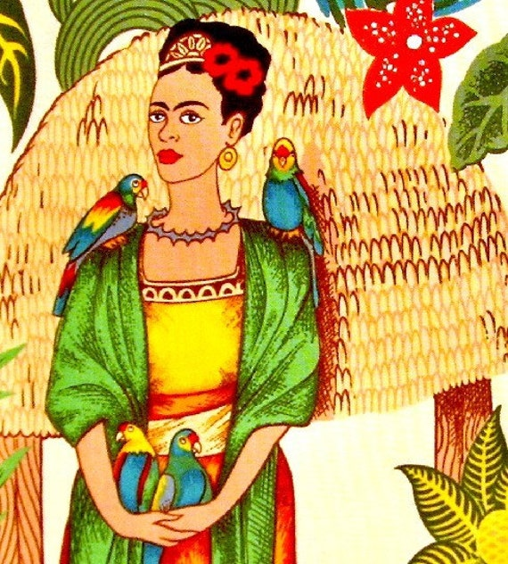 Frida Kahlo Alexander Henry Kitschy Cotton Fabric