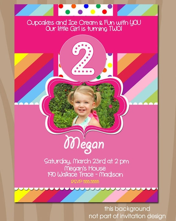 1 Birthday Invitation Wording with good invitation sample